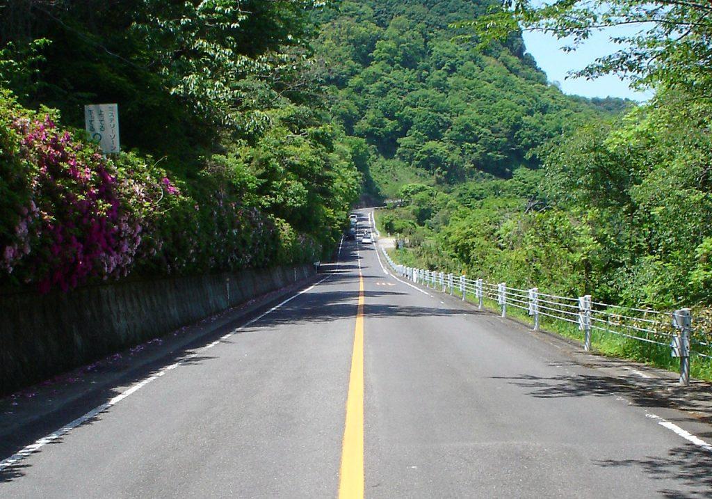 屋島ドライブウェイのおばけ坂