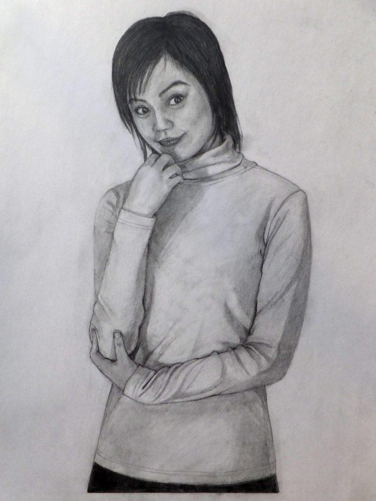人物画の添削アドバイス