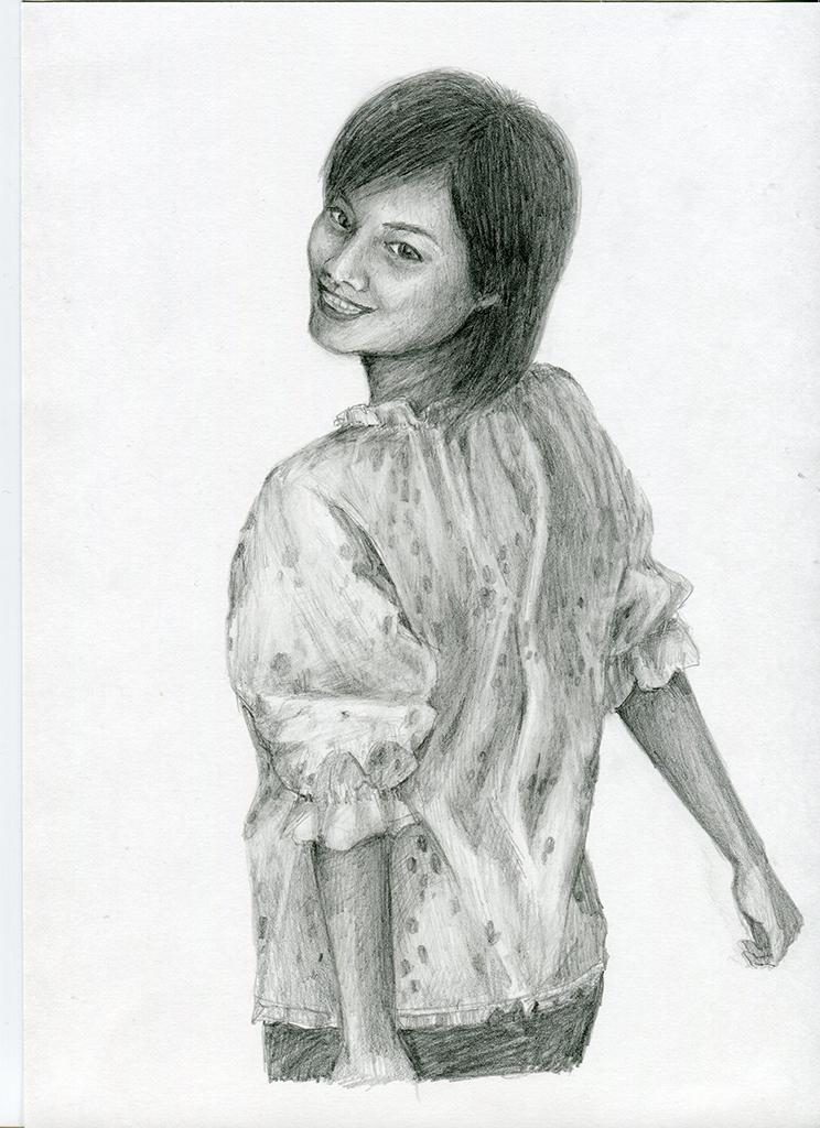 【ピリカアートスクール】人物のデッサン 添削アドバイス