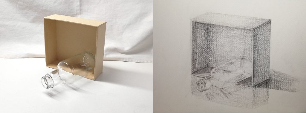 【ピリカアートスクール】静物のデッサン 添削アドバイス